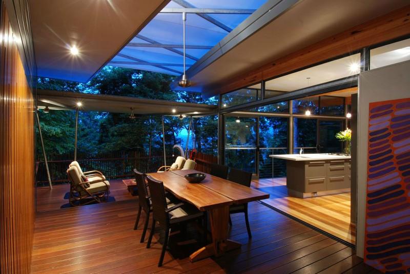 view in gallery inside treehouse by vityar83
