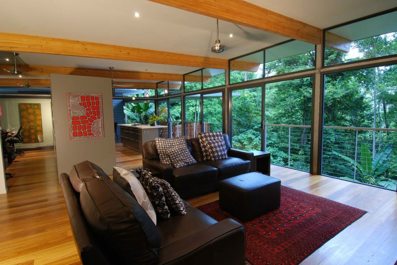 view in gallery - Tree House Interior Ideas