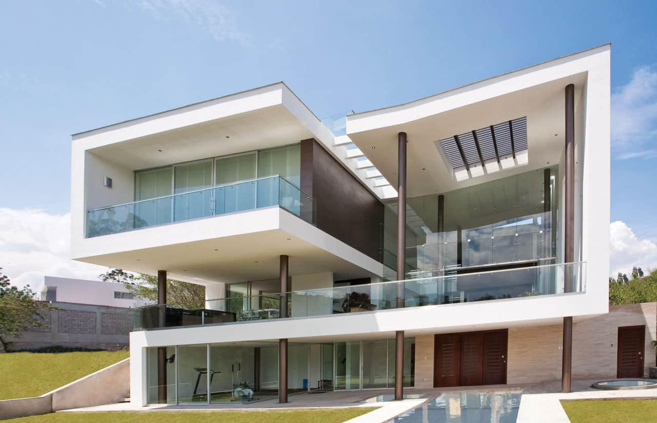 Hacia el rio house by najas arquitectos - Arquitectos casas modernas ...