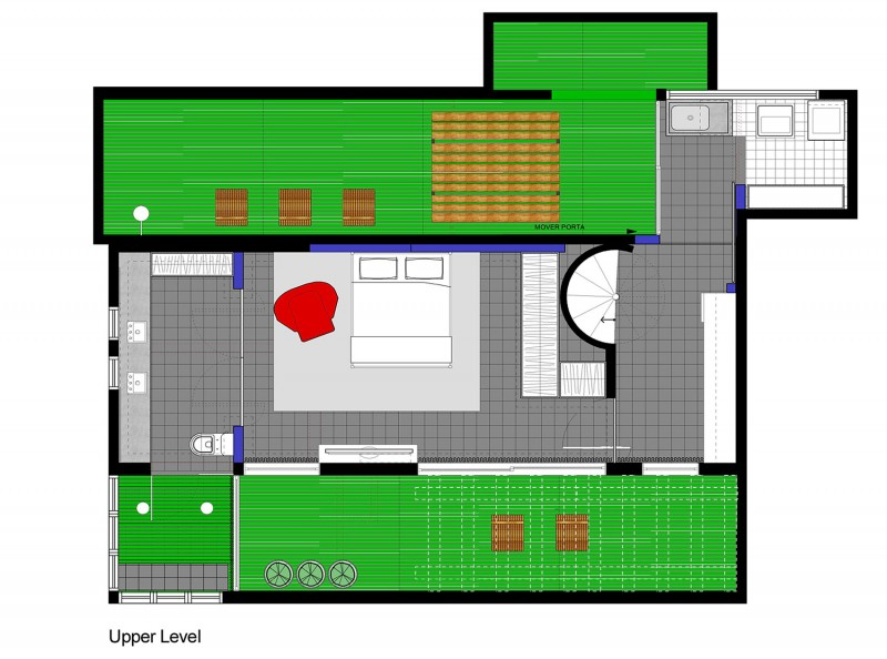The Harmonia Apartment by Estudio Guto Requena