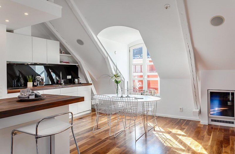 Scandinavian Design: Contemporary Duplex Penthouse In Central Stockholm