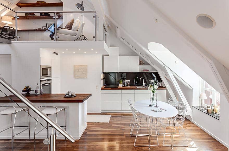 Scandinavian Design: Swedish Penthouse in the Roeda Bergen