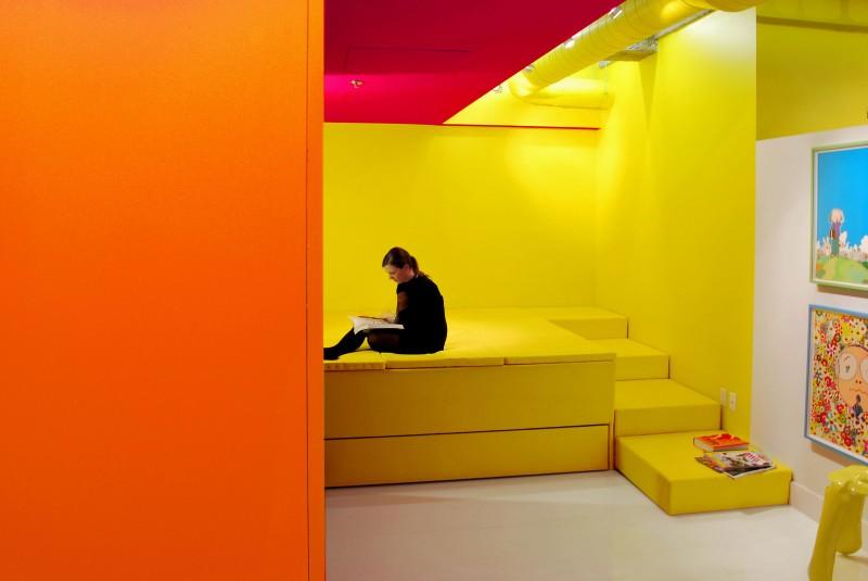 Attractive Orange Wall Color Ideas Frieze - Wall Art Design ...