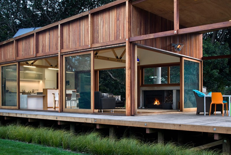 Great Barrier House by Crosson Clarke Carnachan Architects
