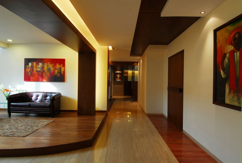 bangalore duplex apartment by zz architects. Black Bedroom Furniture Sets. Home Design Ideas