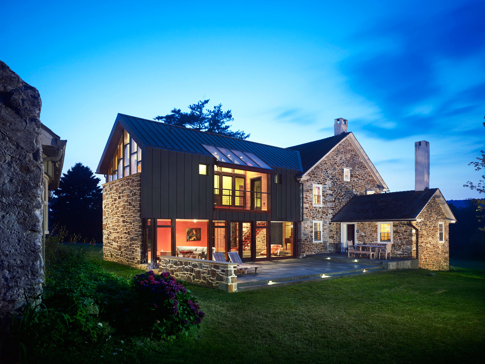Farmhouse Addition by Wyant Architecture