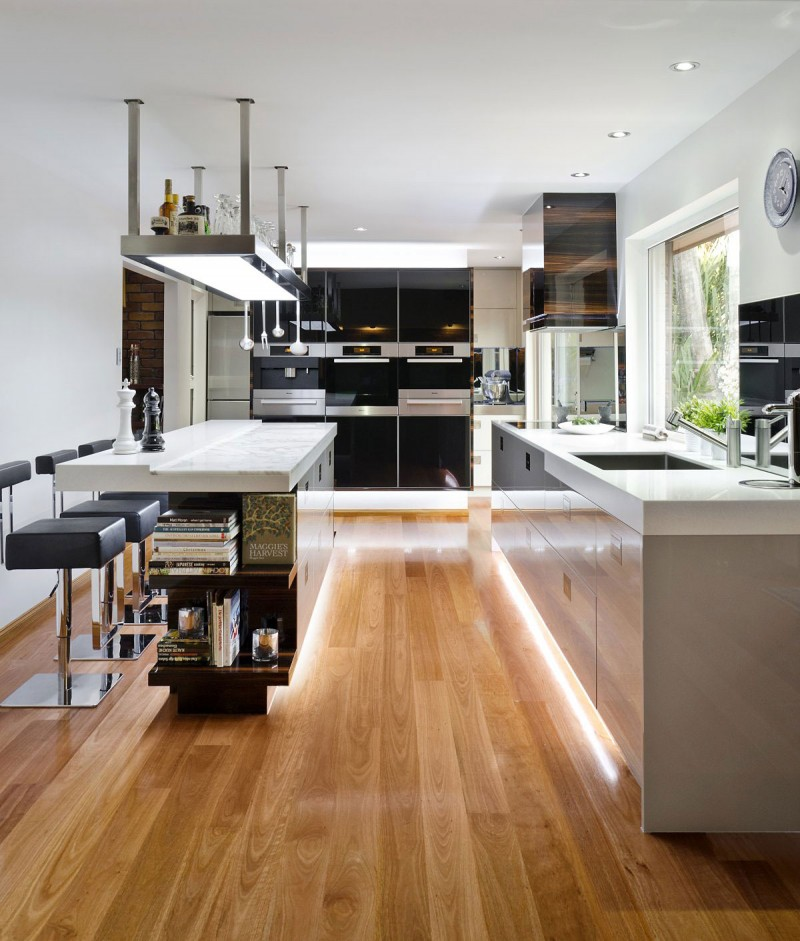 modern kitchen design ideas 2012 a contemporary kitchen in australia by darren 340