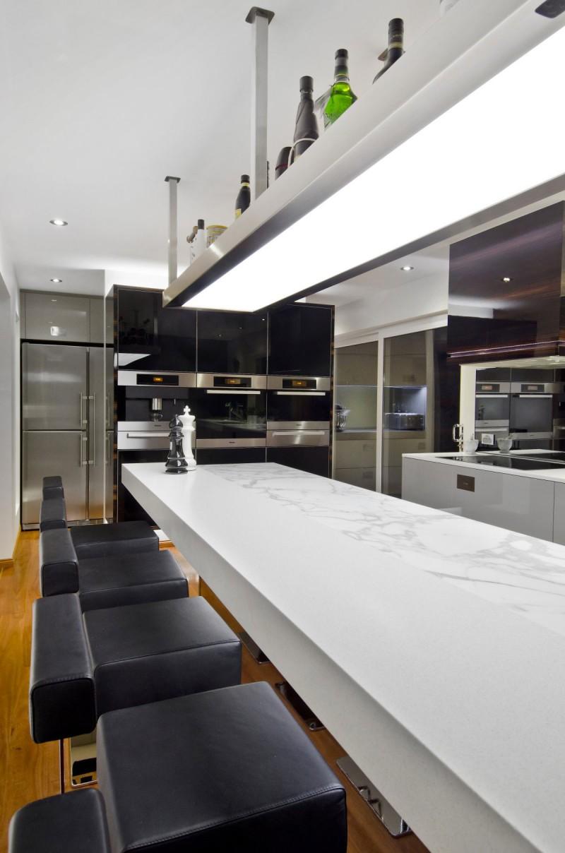 A contemporary kitchen in australia by darren james