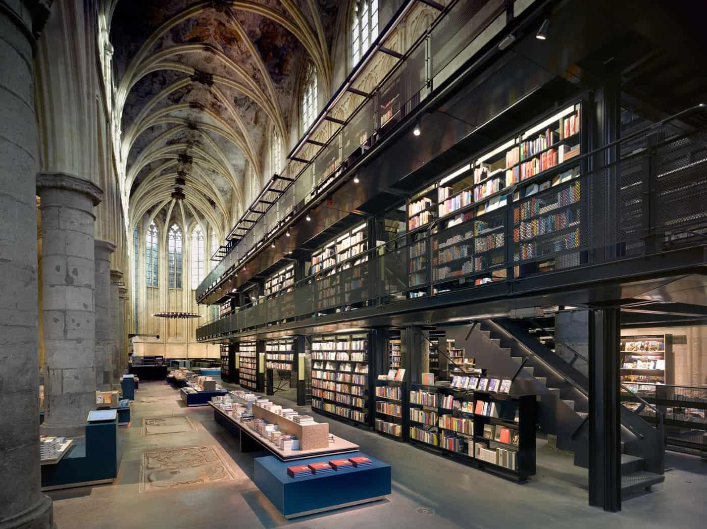Selexyz Dominicanen Bookstore by Merkx+Girod Architecten