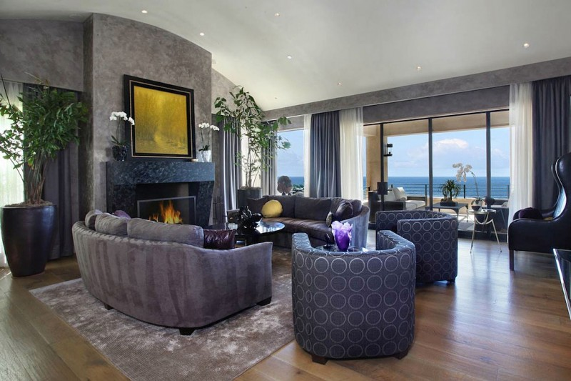 wonderful modern style living room | Soft Contemporary Masterpiece in California