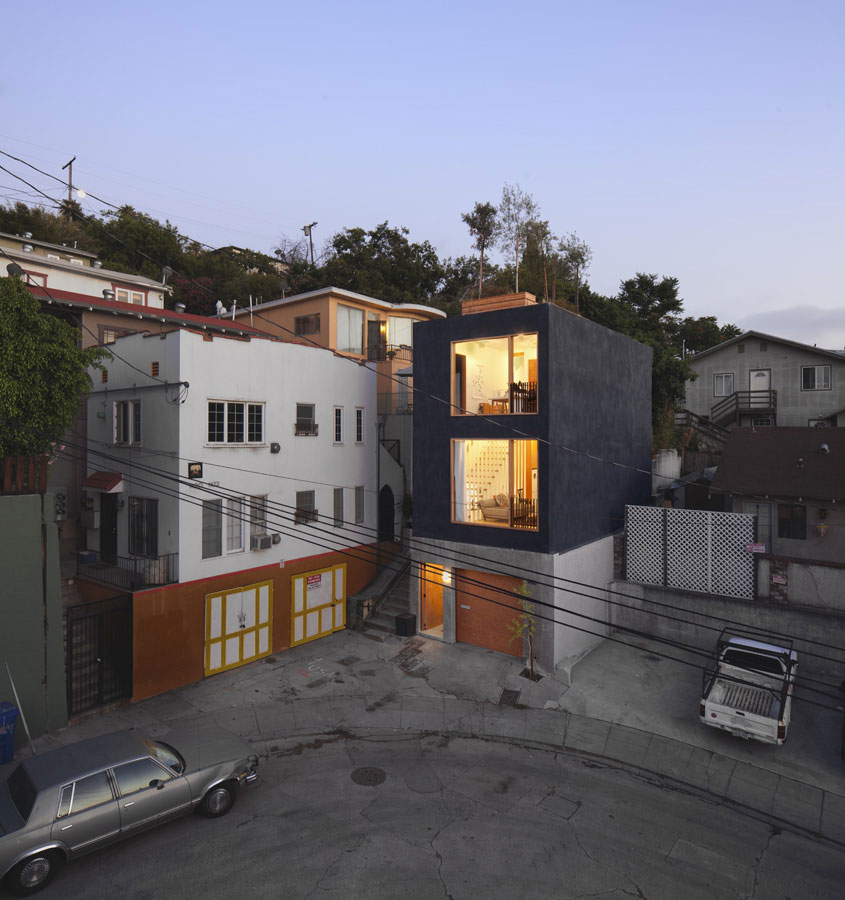 Eels nest by anonymous architects - Maison car park los angeles anonymous architects ...