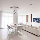 Modern White Apartment Interior by Alexandra Fedorova (3)