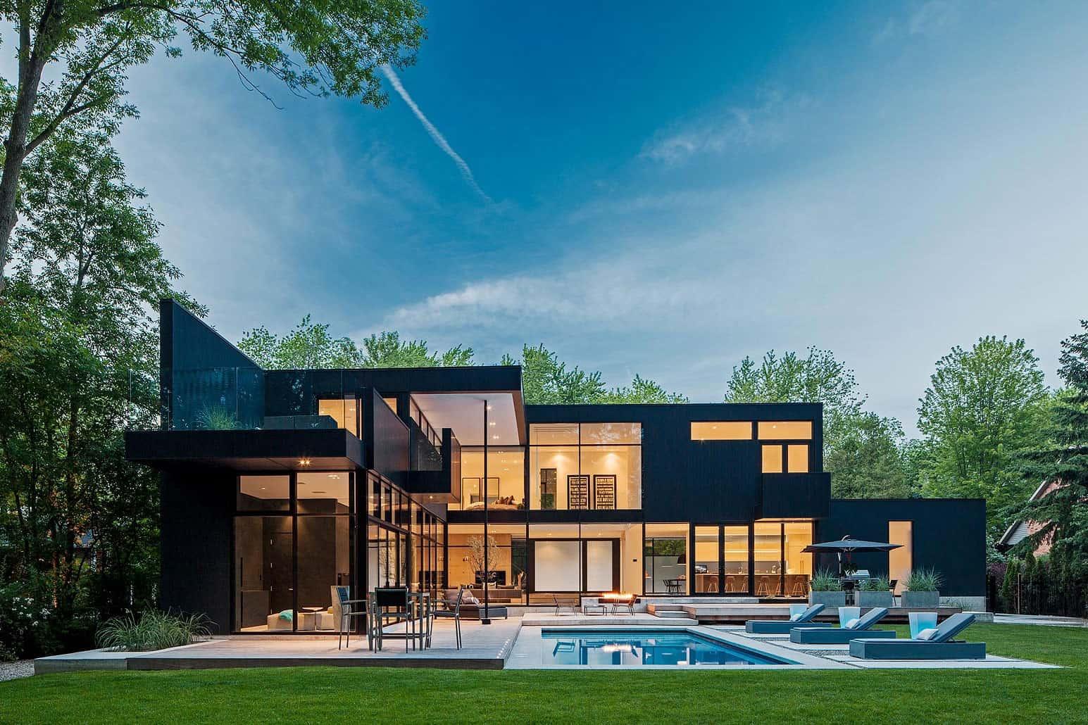 """Готовые проекты домов в современном стиле """" картинки и фотог."""