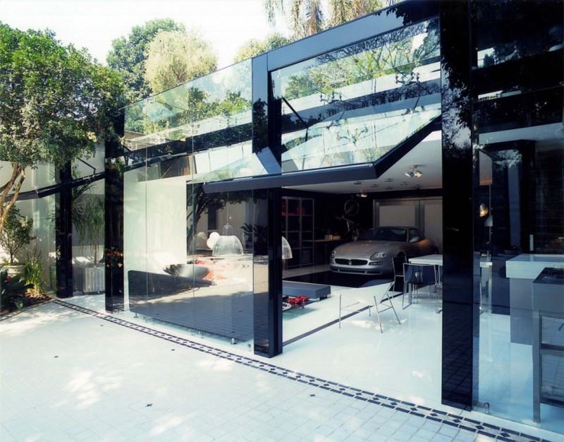 Doppelgarage modern  A Modern Live-In Garage by Brunete Fraccaroli