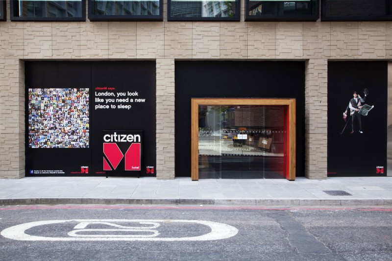 design hotel citizenm london, citizenm london bankside by concrete architectural associates, Design ideen
