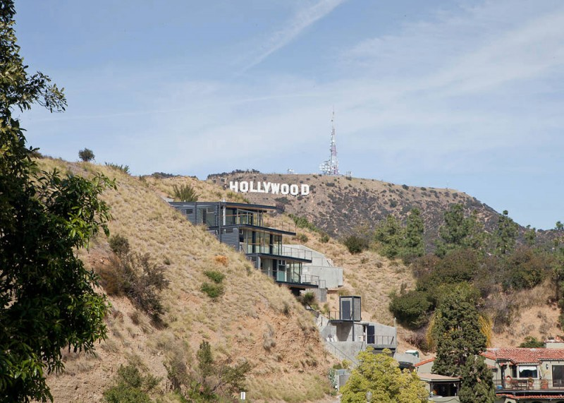 Hollywood Hills House By Francois Perrin