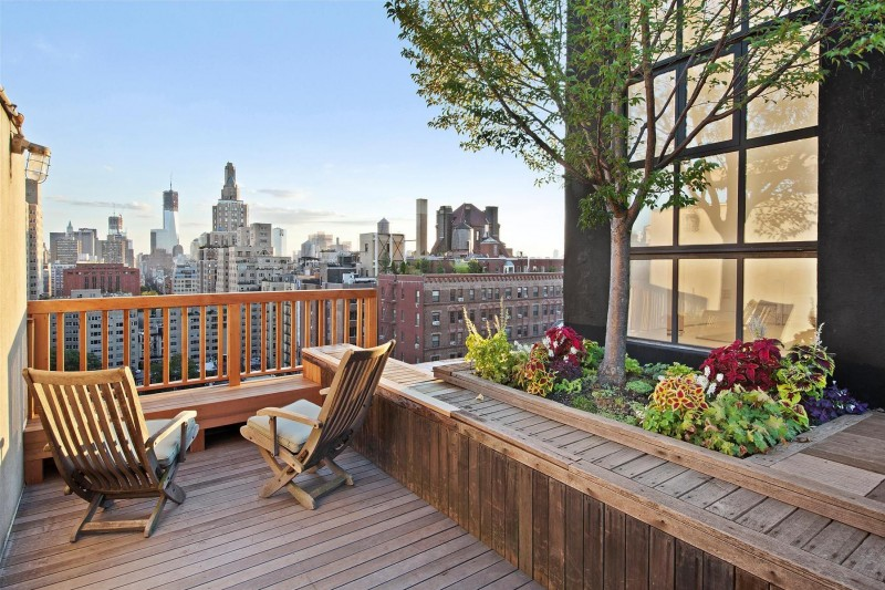 Two Bedroom Apartment With Massive Terrace In Greenwich Village