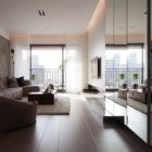 Contemporary Apartment in Taiwan by Fertility Design (1)