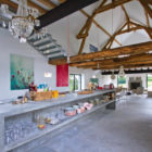 Barn Conversion in Burgundy by Josephine Interior Design (5)