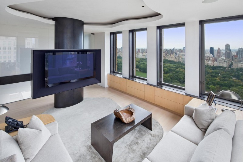 exclusive duplex penthouse in manhattan. Black Bedroom Furniture Sets. Home Design Ideas