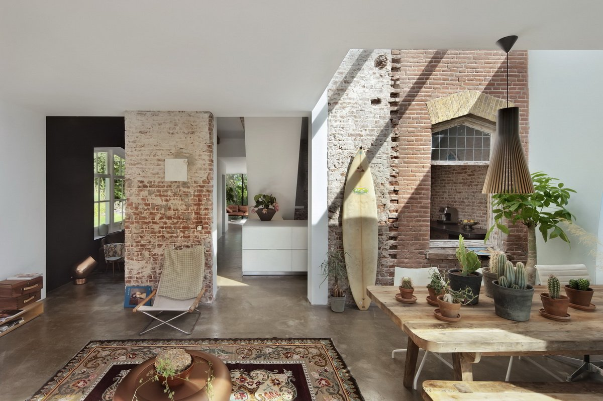 Santpoort Rail House by Zecc Architects and ZW6 Interior