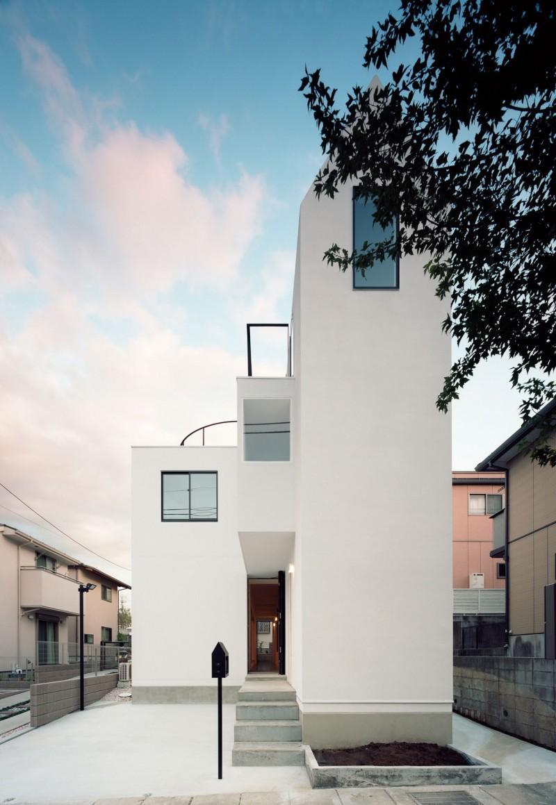 2012 Family Home Decorating Ideas: Two Family House K By Hiroyuki Shinozaki Architects