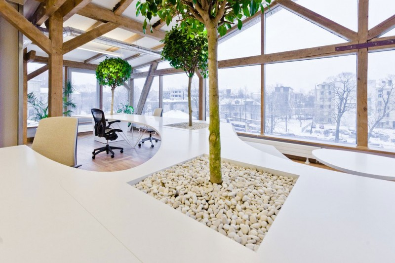 Amazing Architect Firm Office In Paris