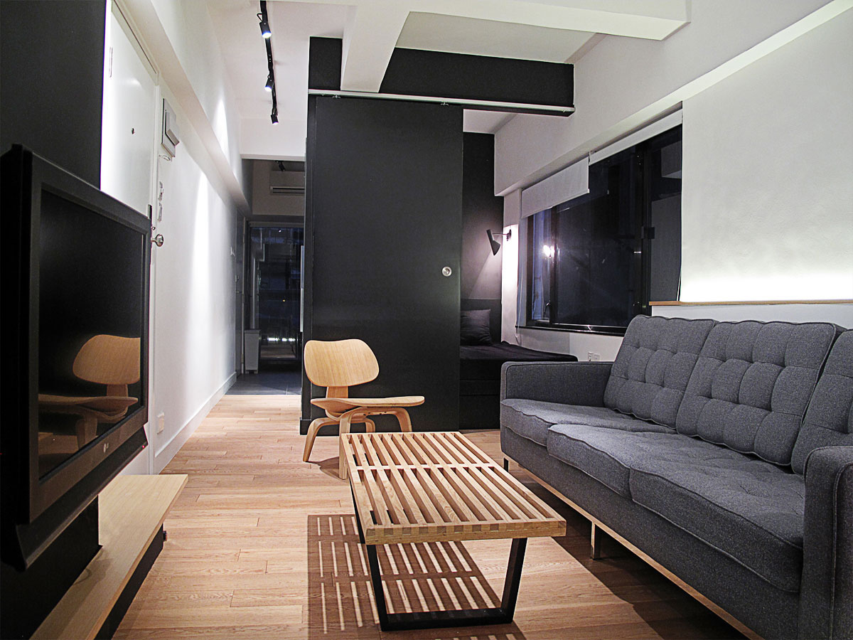 Invader Apartment in Hong Kong by OneByNine (1)