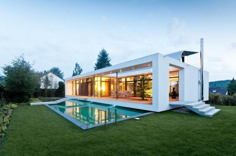c1 house by dettling architekten. Black Bedroom Furniture Sets. Home Design Ideas