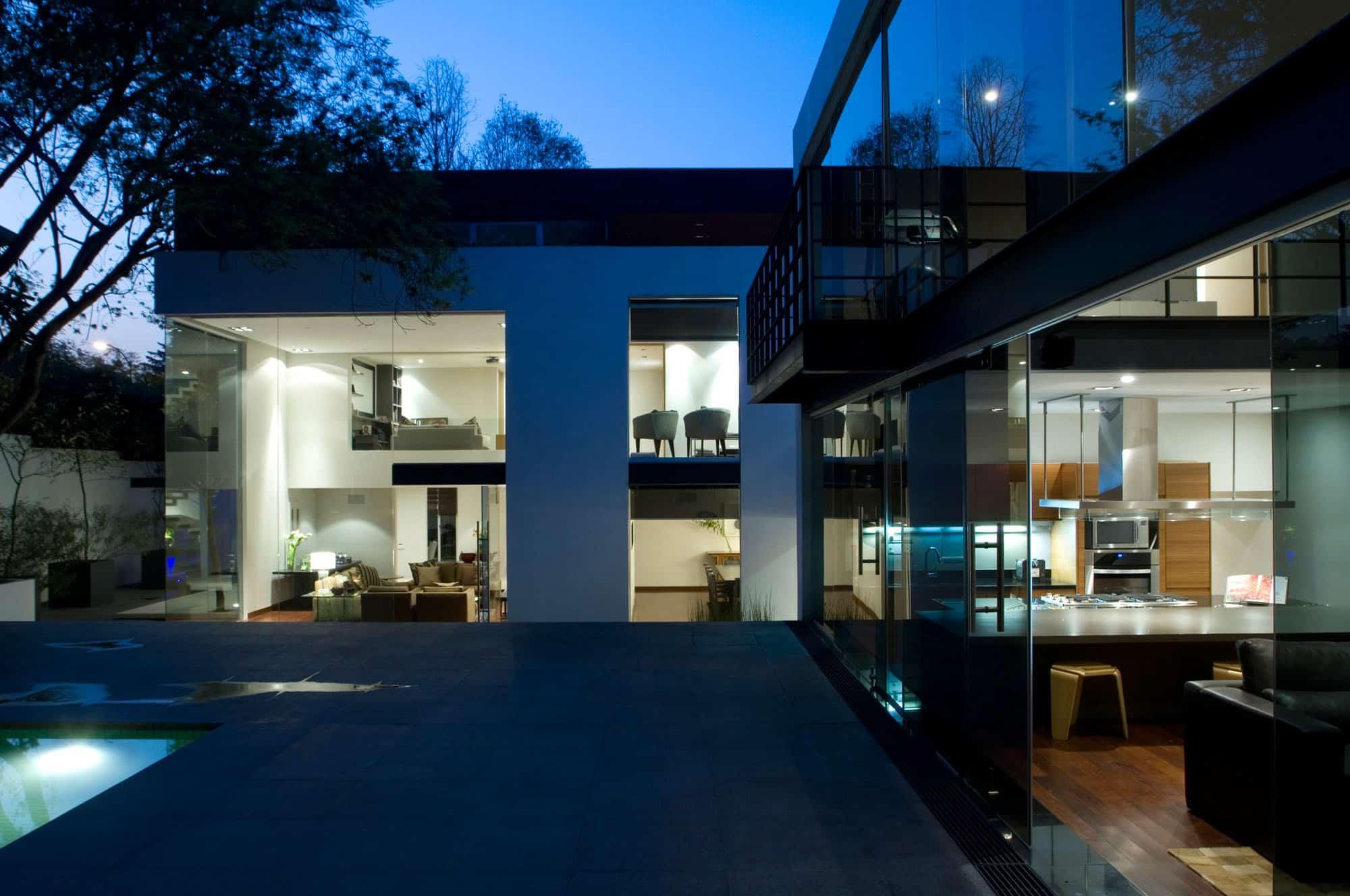 Casa lomas de chapultepec by paola calzada arquitectos for Casa de eventos en ciudad jardin cali