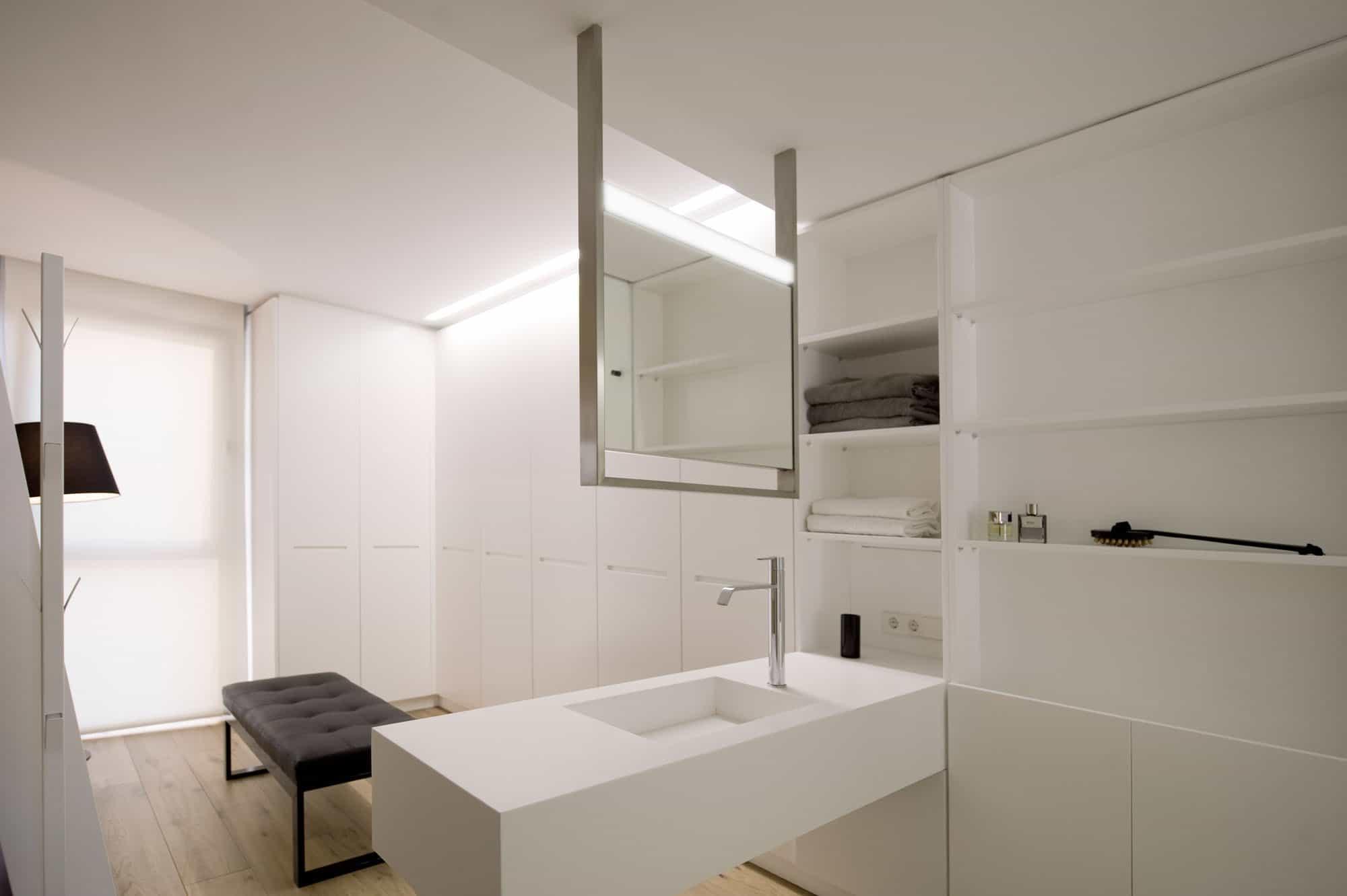HI-MACS Doble Dueto Apartment by Cuartopensante (30)