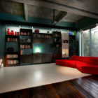 Turin Bachelor's Loft Interior by MG2 Architetture (1)