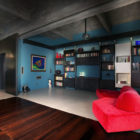Turin Bachelor's Loft Interior by MG2 Architetture (2)