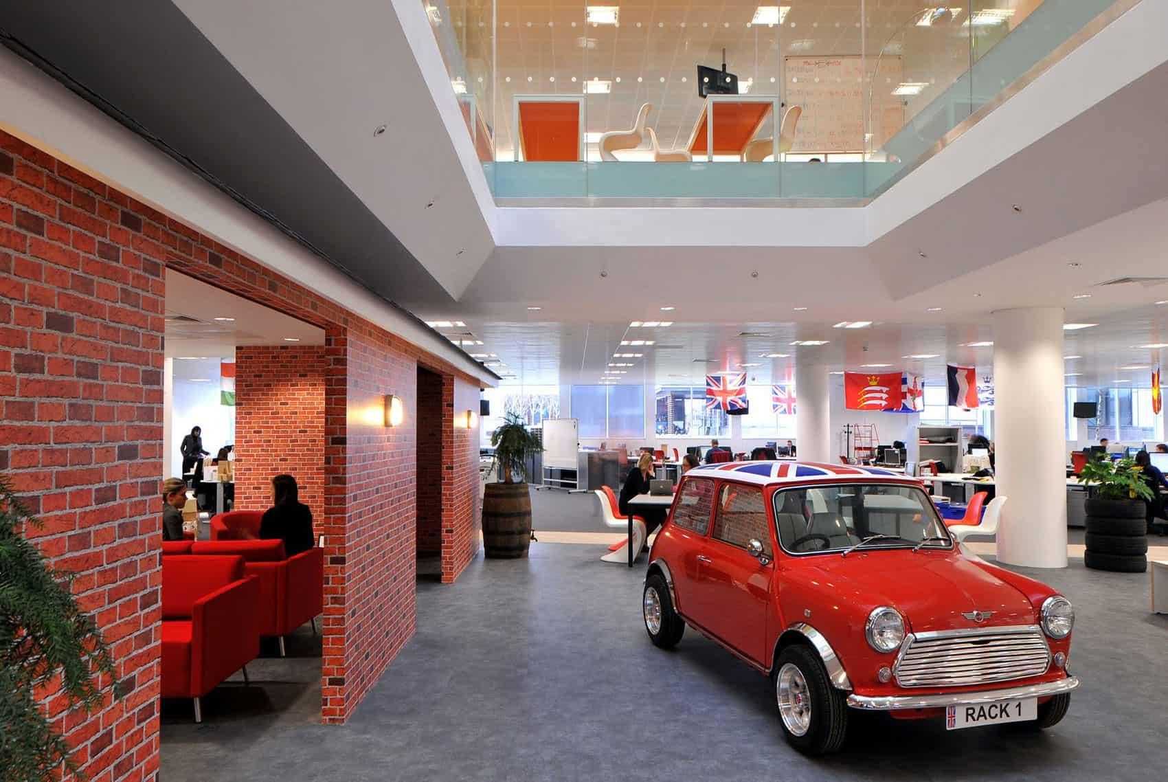 Rackspace Office by Morgan Lovell