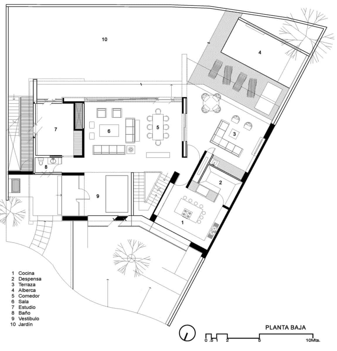 Casa Cuatro by Hernández Silva Arquitectos (22)