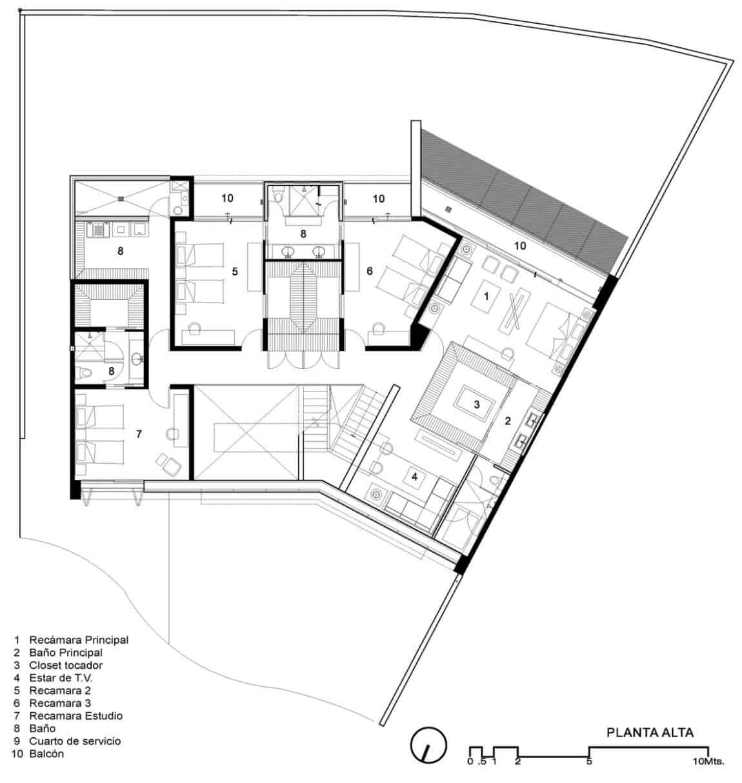 Casa Cuatro by Hernández Silva Arquitectos (23)