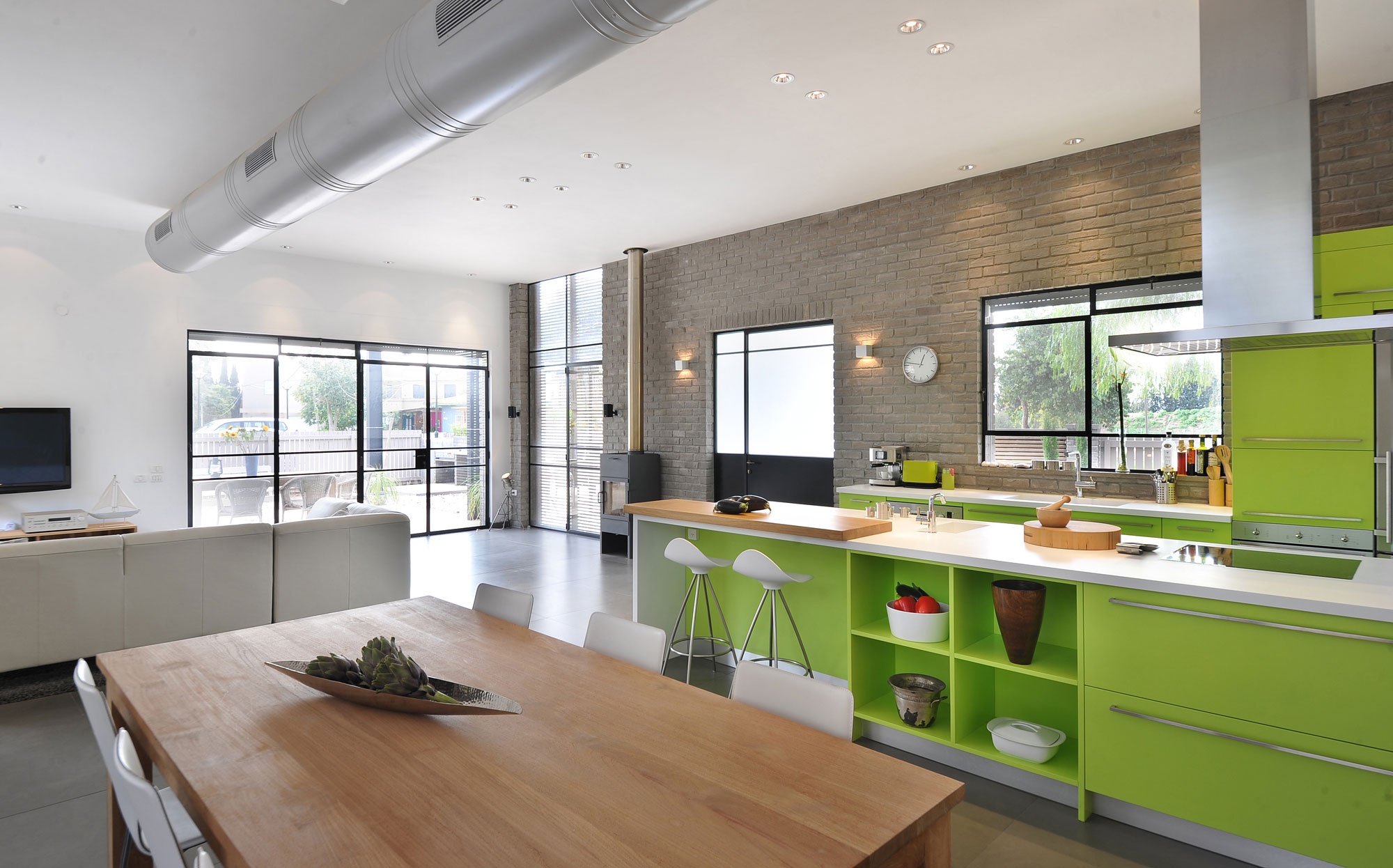 The Kibuts House by Sharon Neuman Architects