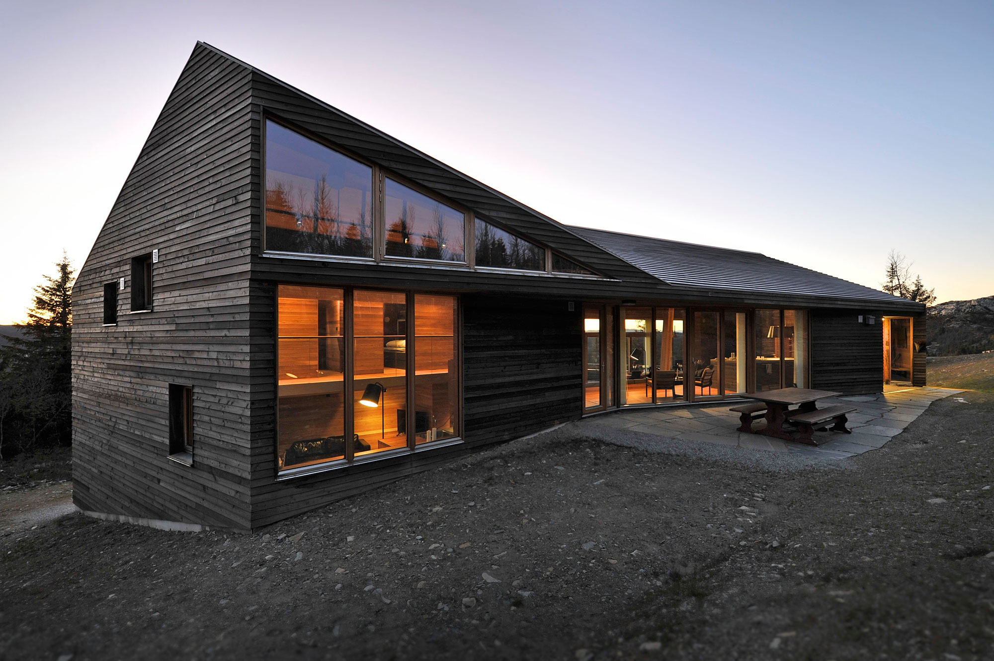 Twisted Cabin by JVA