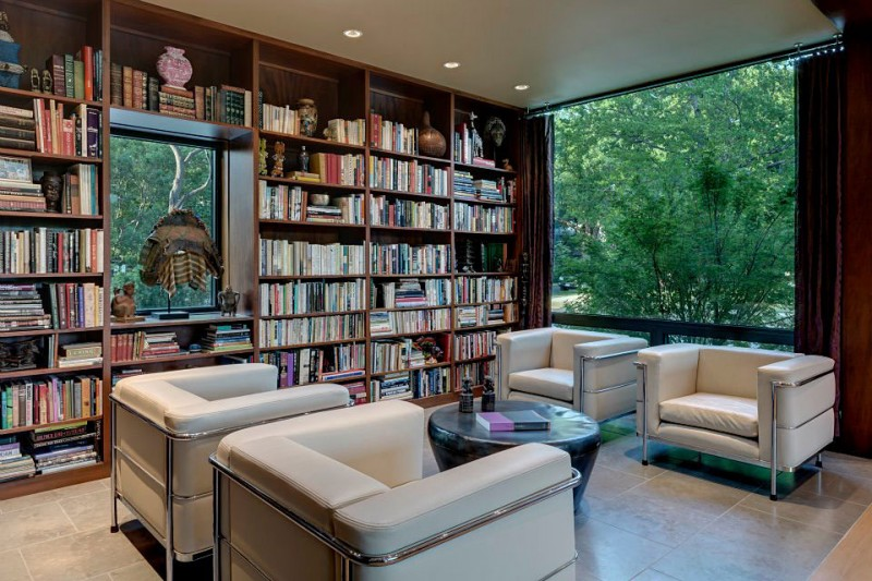 & House of Three Rooms by Marc McCollom Architect