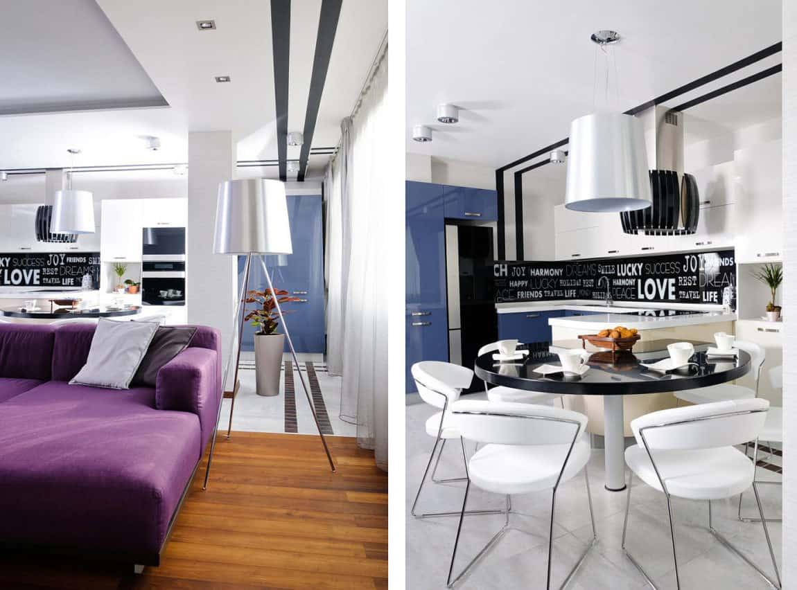 Modern Apartment Interior Design In Odessa By Eno Getiashvili