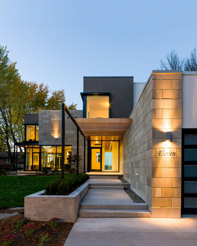 Ottawa river house by christopher simmonds architect for Home architecture