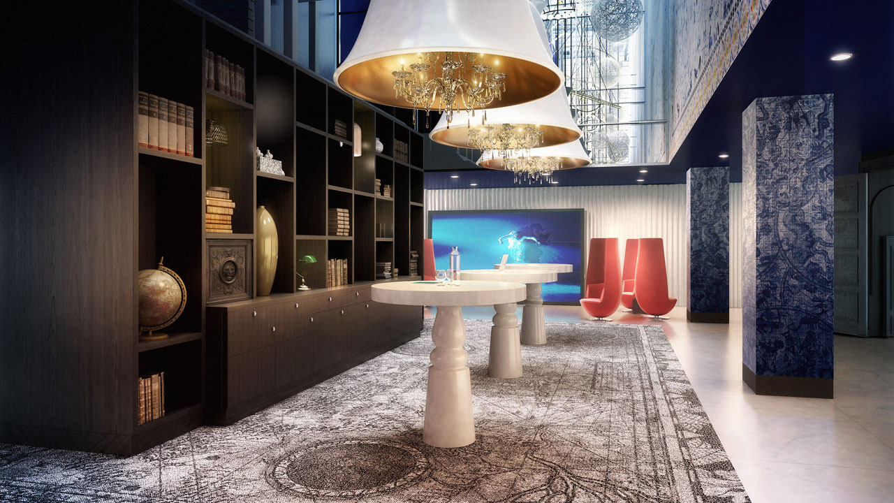 Andaz Amsterdam Hotel by Marcel Wanders (1)