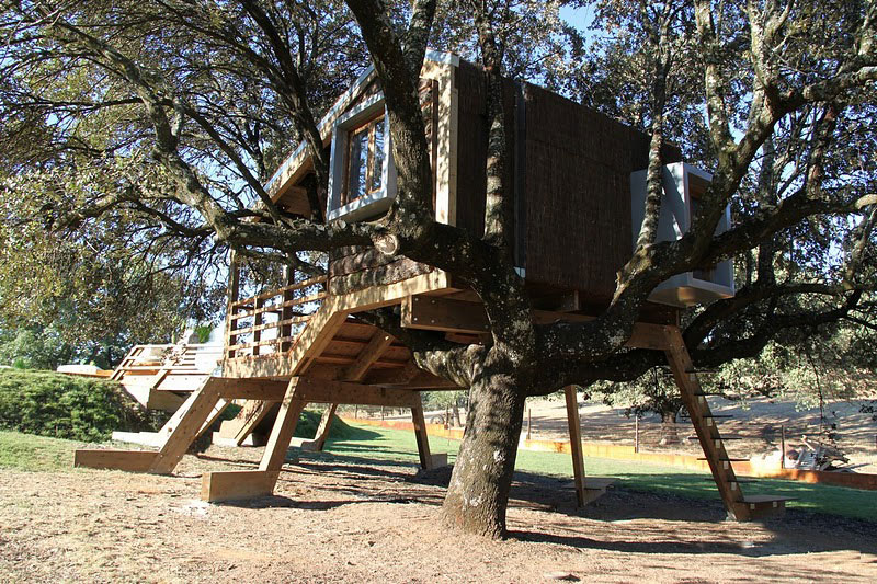 Casa en el arbol enraizada by urbanarbolismo - Casas de arbol ...