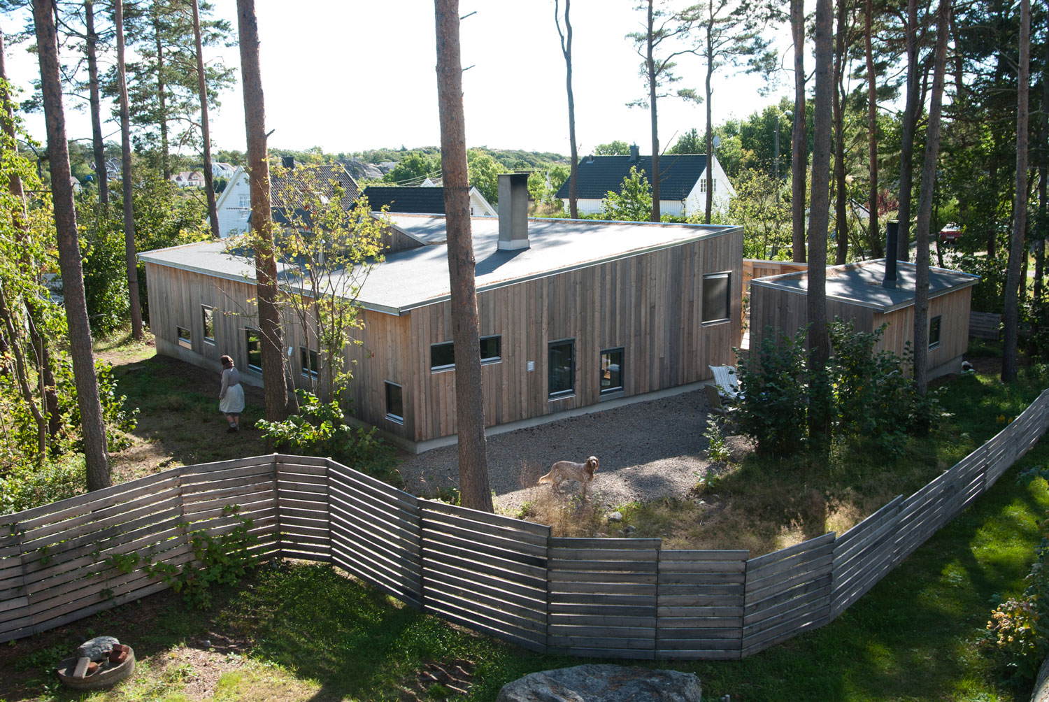 The House in the Thicket by Kasper Bonna Lundgaard M.Arch