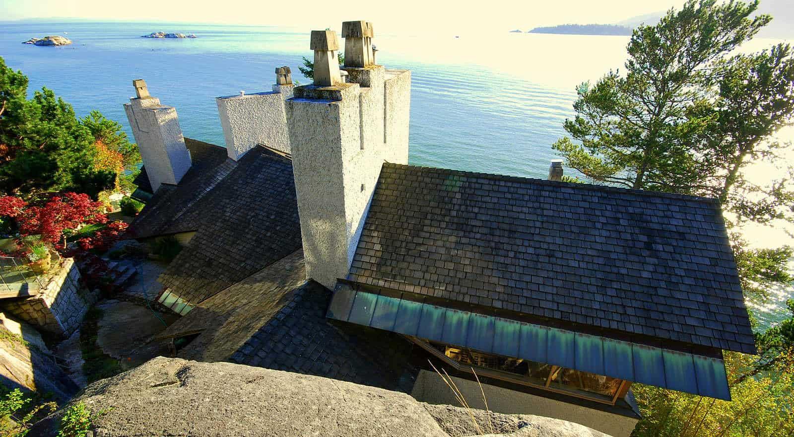 House on a Seaside Bluff by Paul Merrick (1)