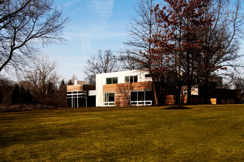 Shaker Heights House by Dimit Architects on shaker style home design, modern contemporary house design, modern outdoor fireplace designs,