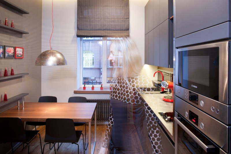 studio apartment inside. View In Gallery Studio Apartment Riga By Eric Carlson