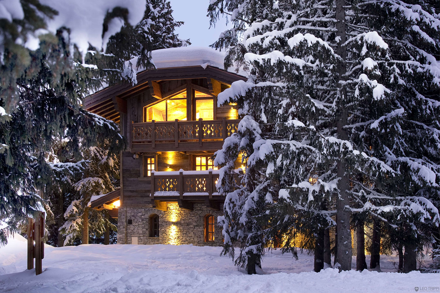 Chalet Les Gentianes 1850 in Courchevel, the French Alps (1)