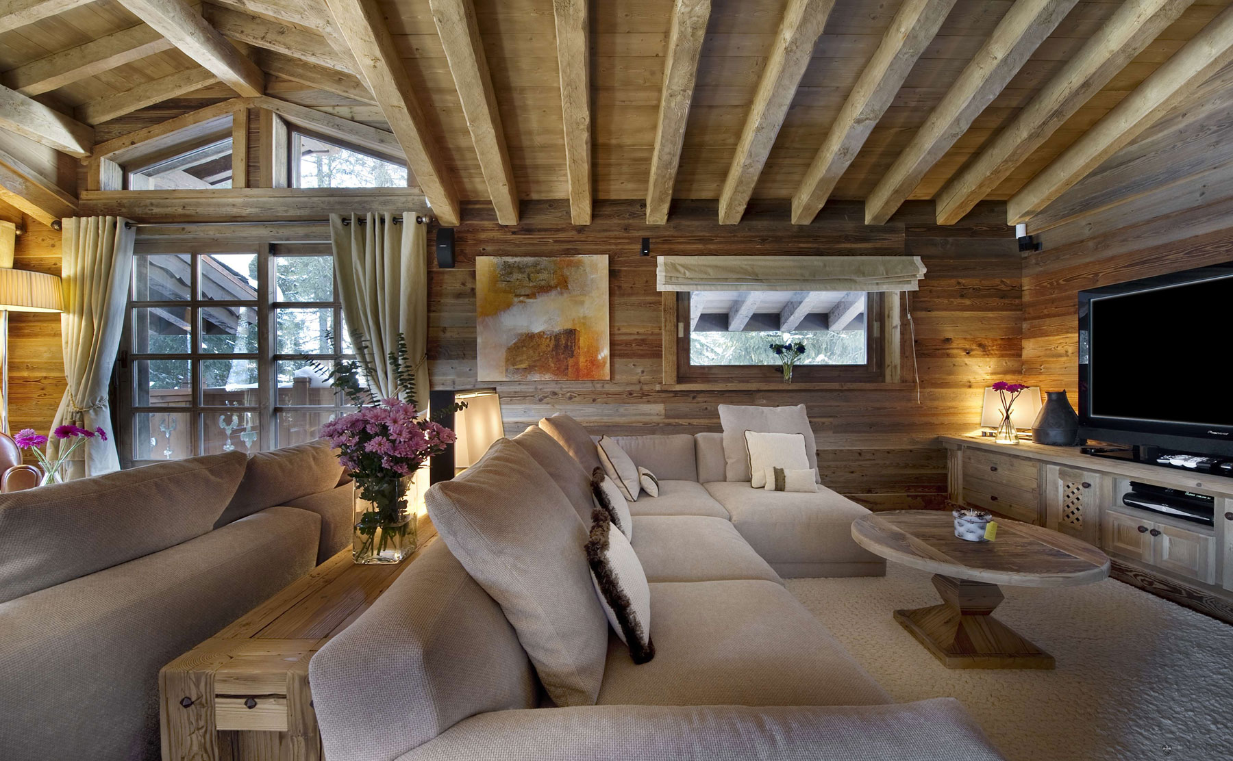 Chalet Les Gentianes 1850 in Courchevel, the French Alps (4)
