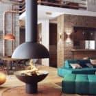 Loft-Like Interior Design by Uglyanitsa Alexander (1)